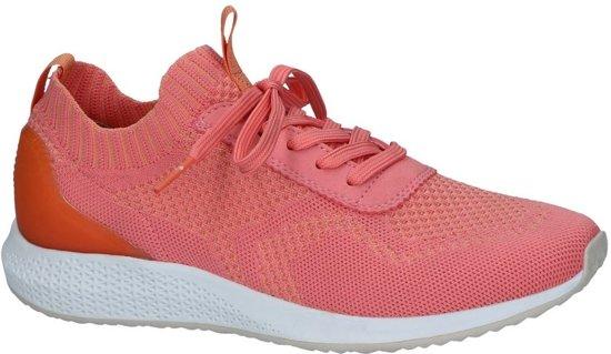 22 Dames Sneakers 23714 563 42 Maat Tamaris coral on 1 Slip Roze pqx7Sw4Aa