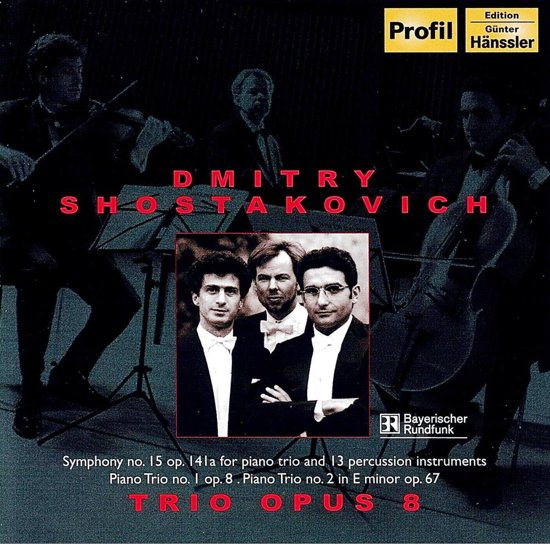 Shostakovich:Trio Opus 8 1-Cd