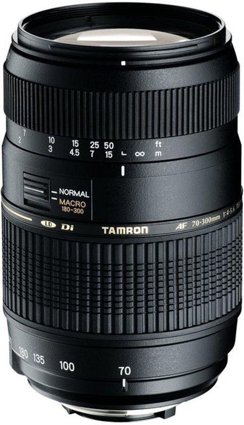 Tamron AF 70-300mm - F4-5.6 Di LD - telezoomlens met macro functie - Geschikt voor Nikon