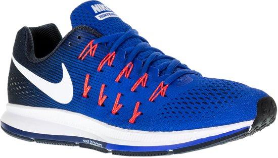 0b9b4b88e15 Nike Air Zoom Pegasus 33 Hardloopschoenen - Maat 41 - Mannen - blauw/wit