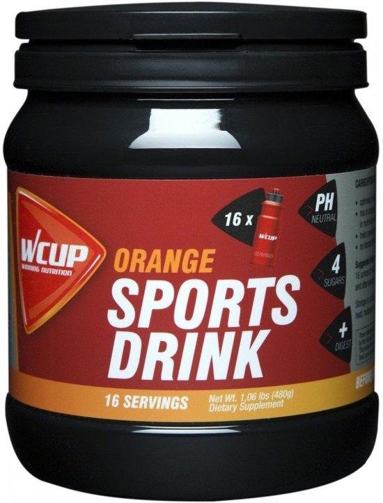 Wcup Sports Drink Orange 480 Gram