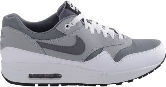 buy popular 52b5e 6ce83 Nike Air Max 1 - Sneakers - Mannen - Maat 44.5 - Grijs  Wit
