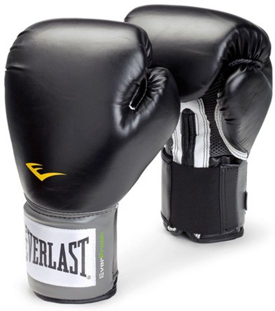 Velcro Pro Style Training Gloves | 12 ounce Zwart