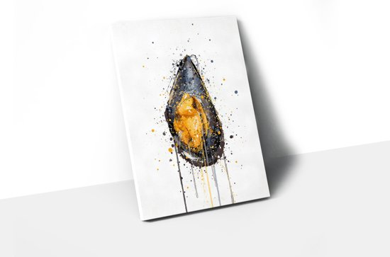 Canvas Mossel A3