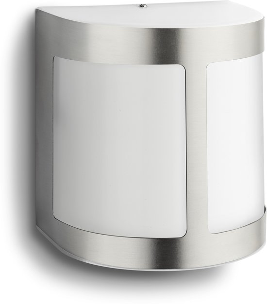 Philips myGarden Parrot - Wandlamp - 1 Lichtpunt - RVS - 1 x 270lm