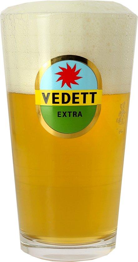 Vedett Extra Bierglas - 6 stuks - 33 cl