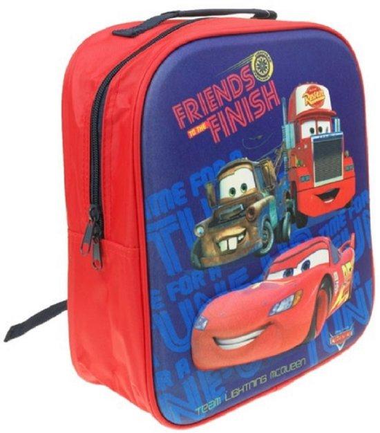 8e75571f13b Disney - Cars - 3D rugzak - rood - blauw - 25x10x30 cm