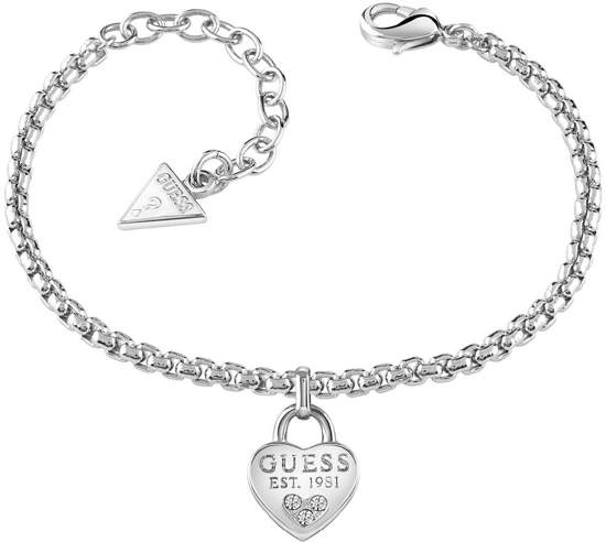 GUESS Jewellery Armband All About Shine - zilverkleurig - 14 cm + 4 cm