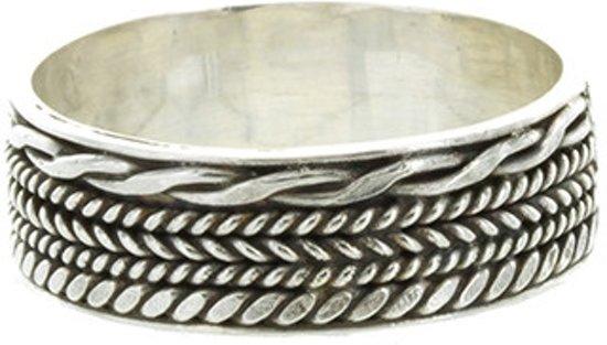 Bali ring Walai - 925 zilver - maat 20.00 mm - maat 20.00 mm