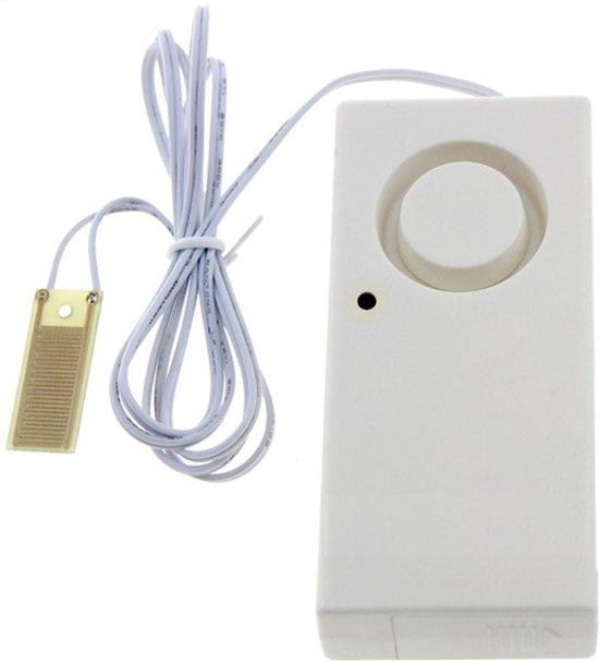 Draadloze water lek detector met alarm