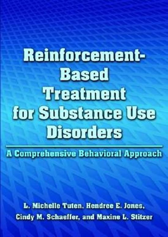Boek cover Reinforcement-Based Treatment for Substance Use Disorders van L. Michelle Tuten (Hardcover)