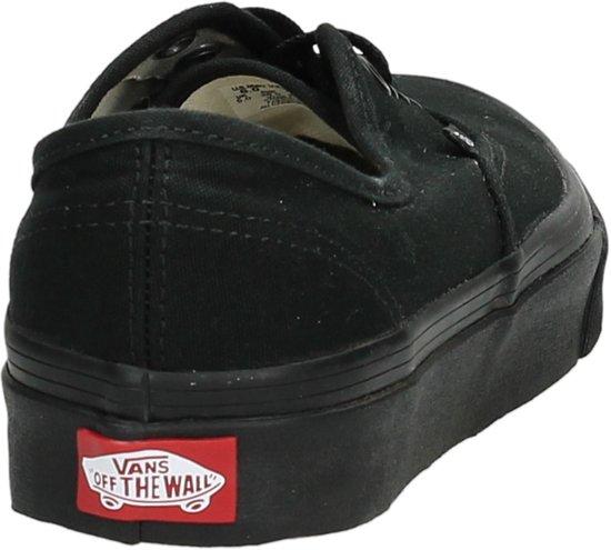 Black Maat black 46 Unisex Authentic Sneakers Vans Bwv01x