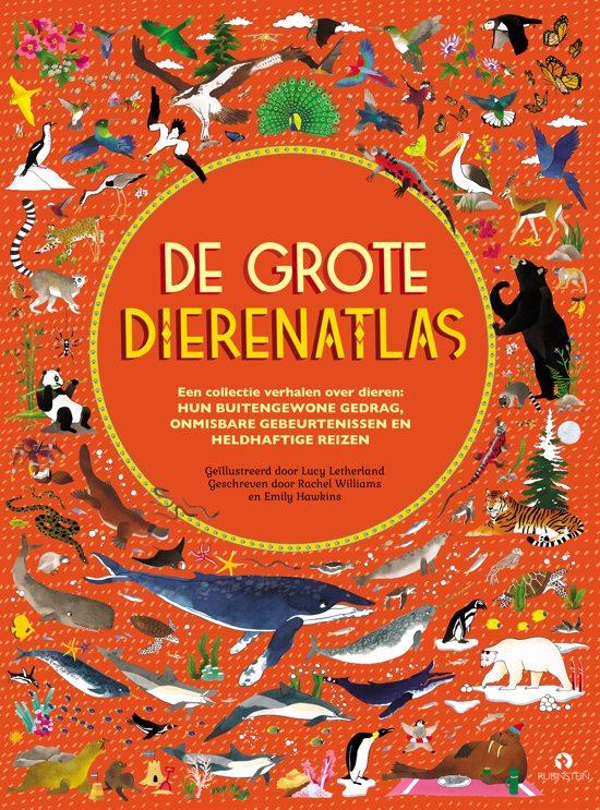 Boek cover De Grote Dierenatlas van Rachel Williams (Hardcover)