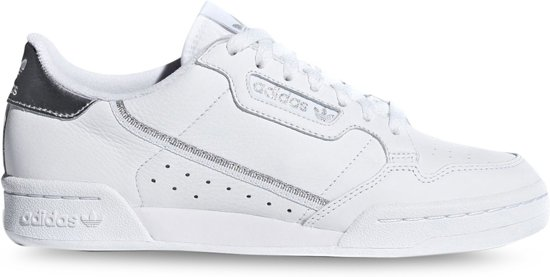 801e98f30e0 bol.com | Adidas Dames Sneakers Continental 80 W - Wit - Maat 40⅔