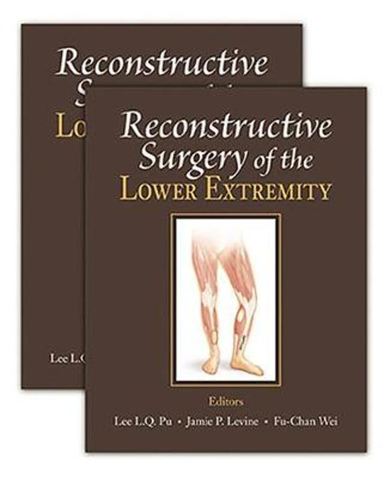 Boek cover Reconstructive Surgery of the Lower Extremity van  (Hardcover)