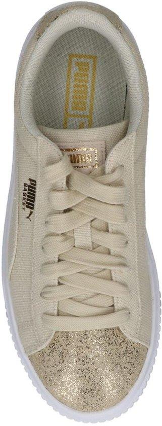 3646c97410b Platform Lage Puma Sportieve Beige Sneakers Basket wzqOqAF