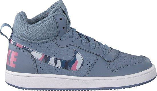 358a7c22dc5 bol.com | Nike Meisjes Sneakers Court Borough Mid (kids) - Grijs ...