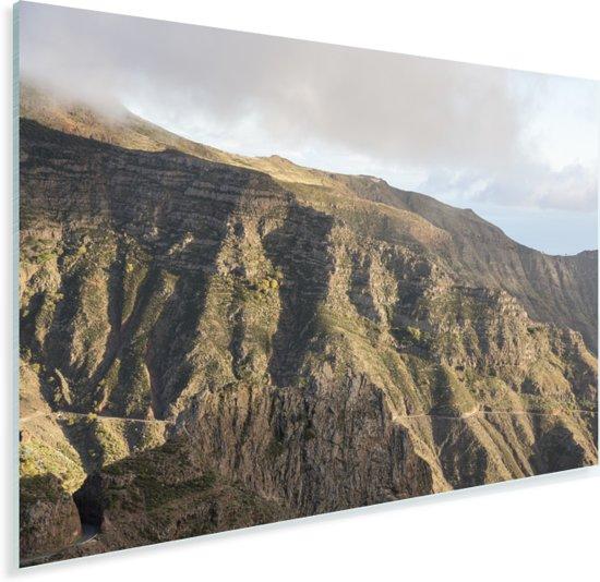 Berglandschap van het Nationaal park Garajonay in Spanje Plexiglas 30x20 cm - klein - Foto print op Glas (Plexiglas wanddecoratie)