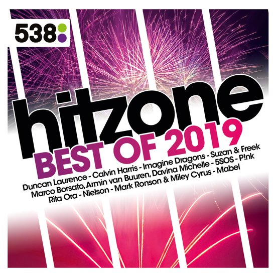 CD cover van 538 Hitzone - Best Of 2019 van Various