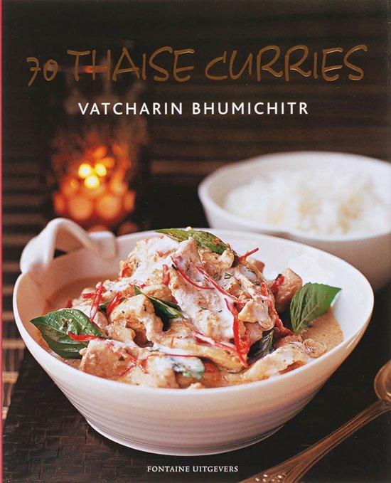 Cover van het boek '70 Thaise curries'