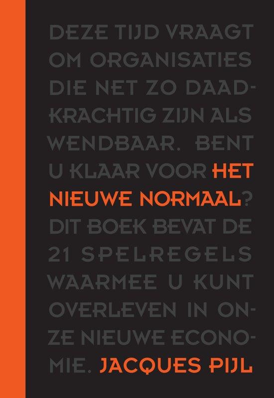 Boek cover Het nieuwe normaal van Jacques Pijl (Hardcover)