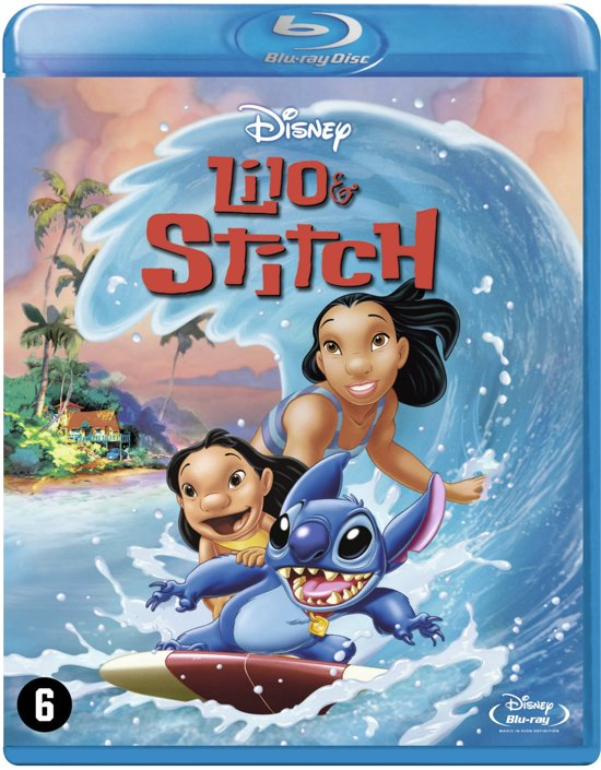 DVD cover van Lilo & Stitch (Blu-ray)