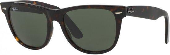 edad0646314475 Ray-Ban RB2140 902 - zonnebril - Original Wayfarer - Tortoise Groen - 47mm