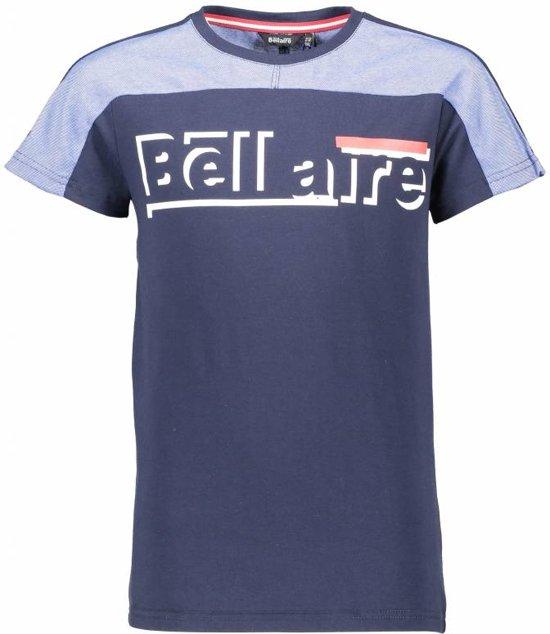 Bellaire T-shirt KarsB pique toppart navy blazer