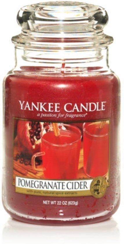 Yankee Candle Pomegranate Cider - Large Jar