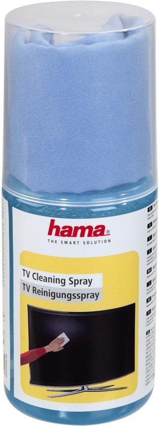 Hama Reinigingsspray - Geschikt voor LCD/LED schermen - 200ml - Inclusief Microvezel Doekje