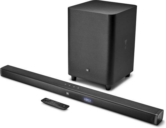 JBL Bar 3.1 - Soundbar met draadloze subwoofer - Zwart