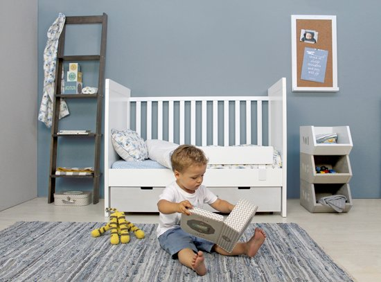Bopita - Combi-Bed - Babyflex - 70 x 140 cm - Wit