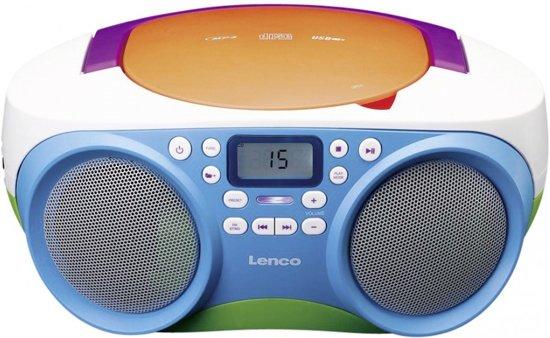Beste bol.com   Lenco SCD-41 - Radio CD, MP3-speler met USB en FY-54