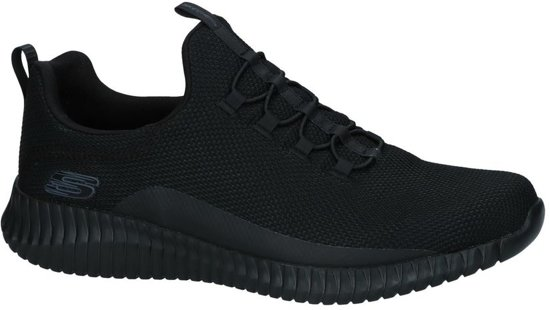 on Slip Sneakers Zwarte Skechers Memory Foam CxrQodBeWE