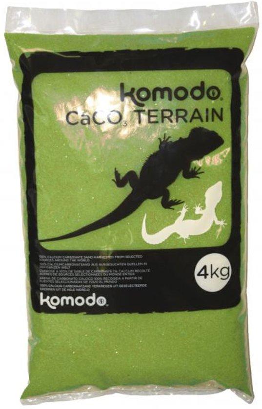 Komodo Caco Zand - Groen - 4 kg