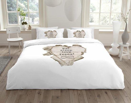 Essara Bedding Essara Dekbedovertrek Love Repeat-140x200/220