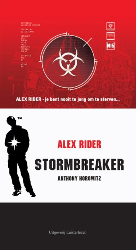alex rider stormbreaker book report Alex rider is a series of spy novels by anthony horowitz about a 14-15-year-old spy named alex riderthe series is aimed primarily at teens and young adults the series comprises eleven novels, as well as five graphic novels, three short stories and a supplementary book.