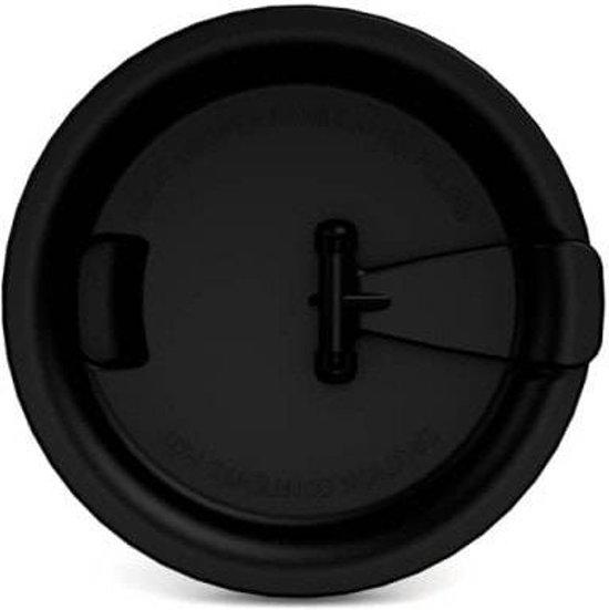 Beker Melamine SAN 1208-1210 drinkdeksel zwart