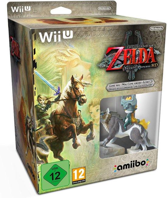 Legend of Zelda, Twilight Princess HD + Amiibo   Wii U