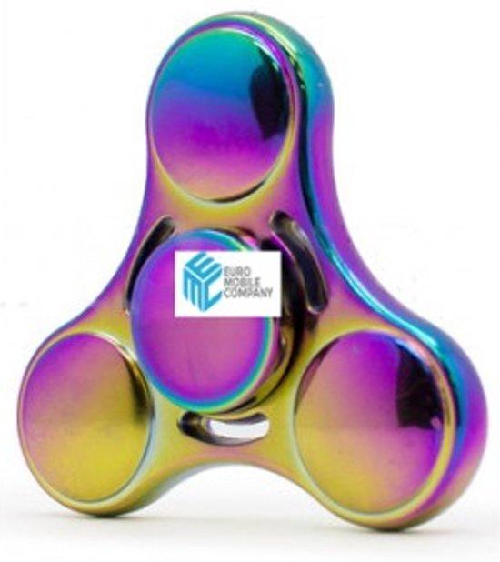 Fidgetspinner - Rainbow Alloy