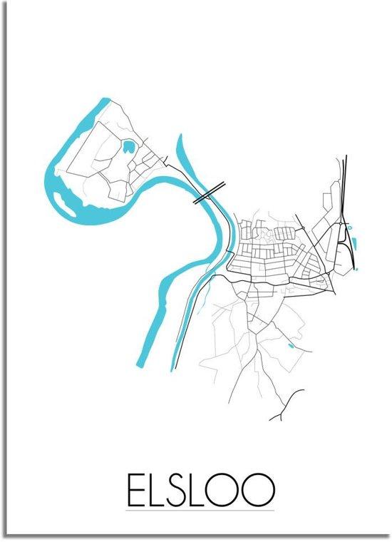 bol.com   DesignClaud Elsloo - Stadskaart - Plattegrond - Interieur ...