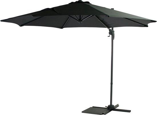 Favoriete bol.com | SenS-Line parasol Honolulu (3ø m) Antraciet inclusief voet BY19