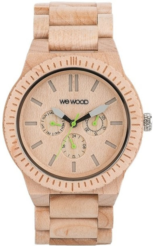 WeWOOD KAPPA Beige  - Horloge - Crème - 41 mm