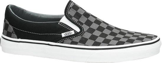 Sneakers Checkerboard Maat Black Vans Classic Slip pewter Unisex 45 on xwqt108nvt