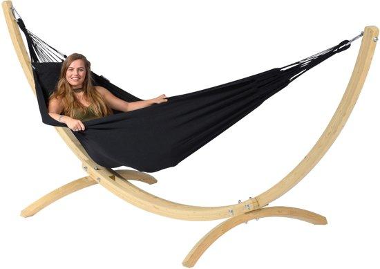 Hangmatstandaard 'Wood' éénpersoons