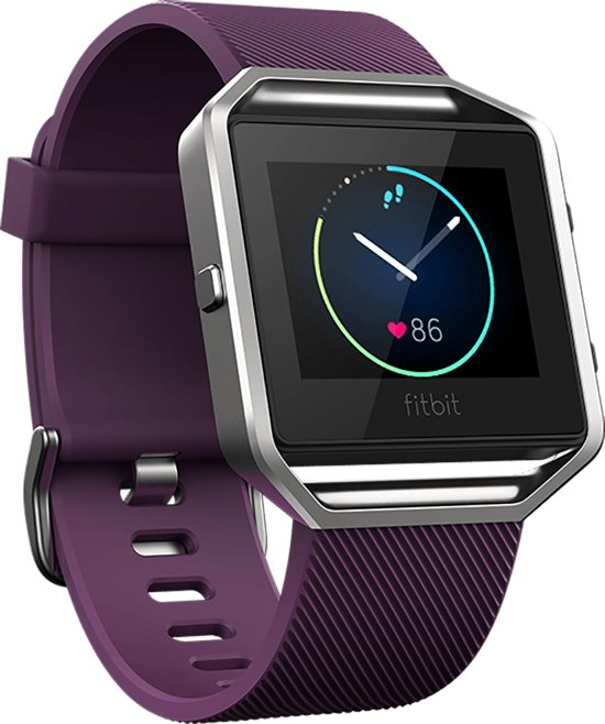 Fitbit Blaze  HR activiteitsmeter - paars - large