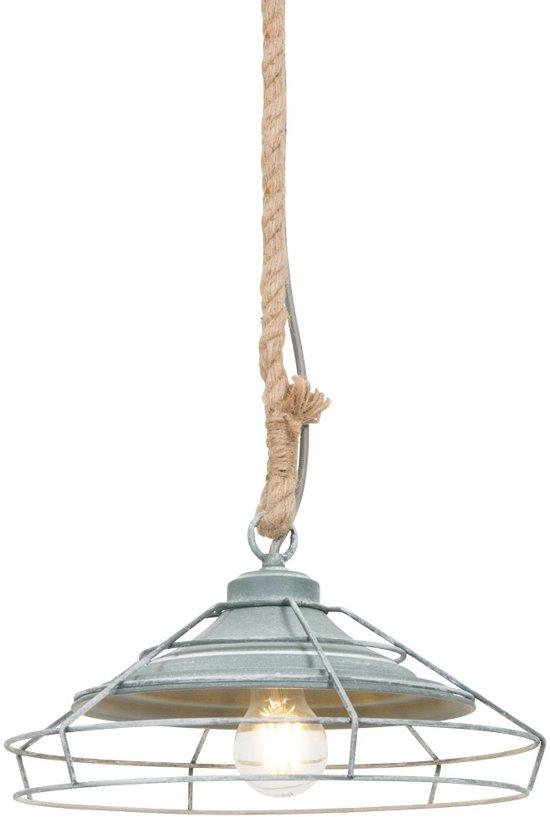 Hanglamp Met Touw.Hanglamp Touw Landelijke Hanglamp Bronq Lissa Grijs