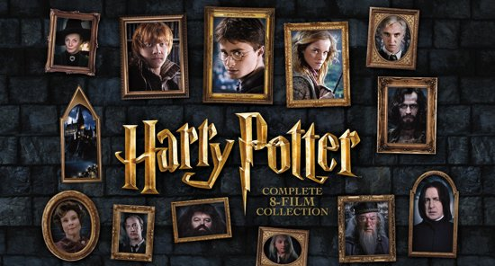DVD cover van Harry Potter - Complete 8-Film Collection (Special Edition)