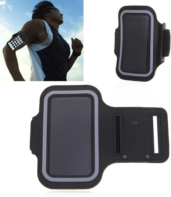 Sportband iPhone XS Max & iPhone XR hardloop sport armband
