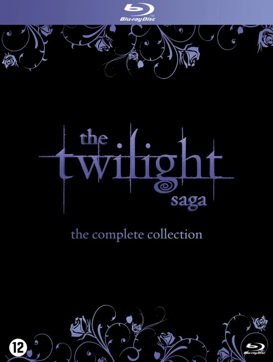 DVD cover van The Twilight Saga Complete Collection (Blu-ray)